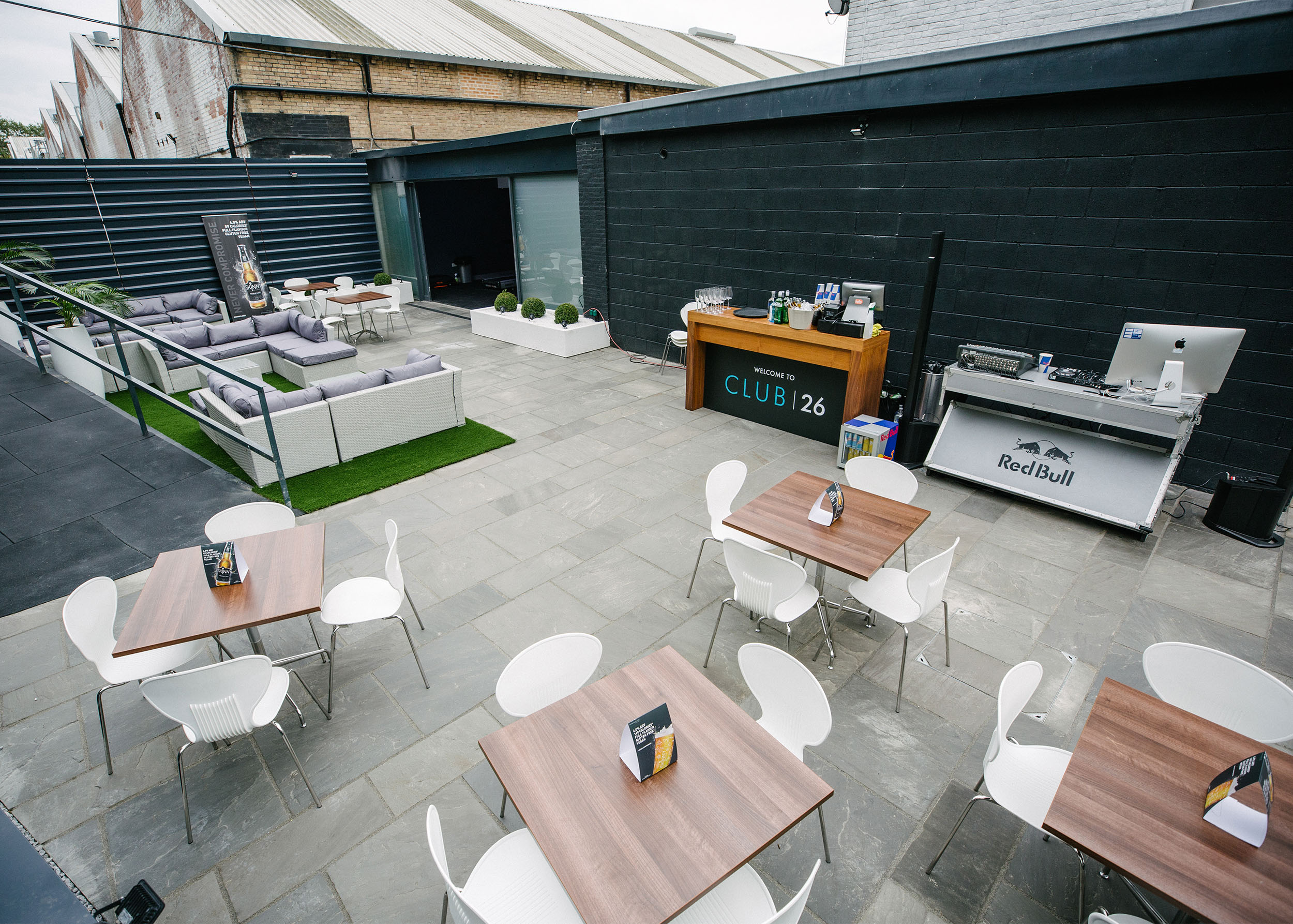 Hub26 Outdoor Terrace
