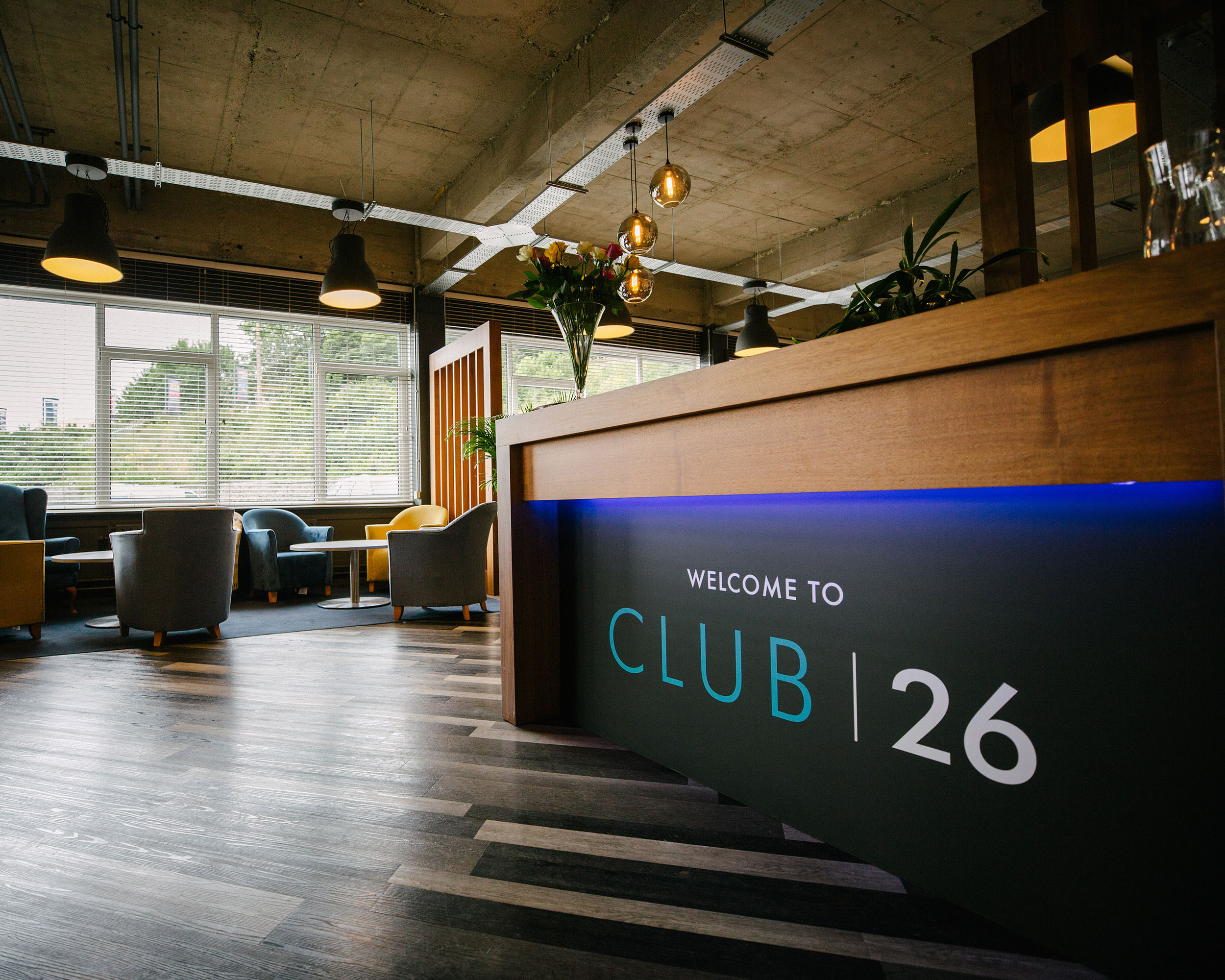 Club26 Lounge Reception