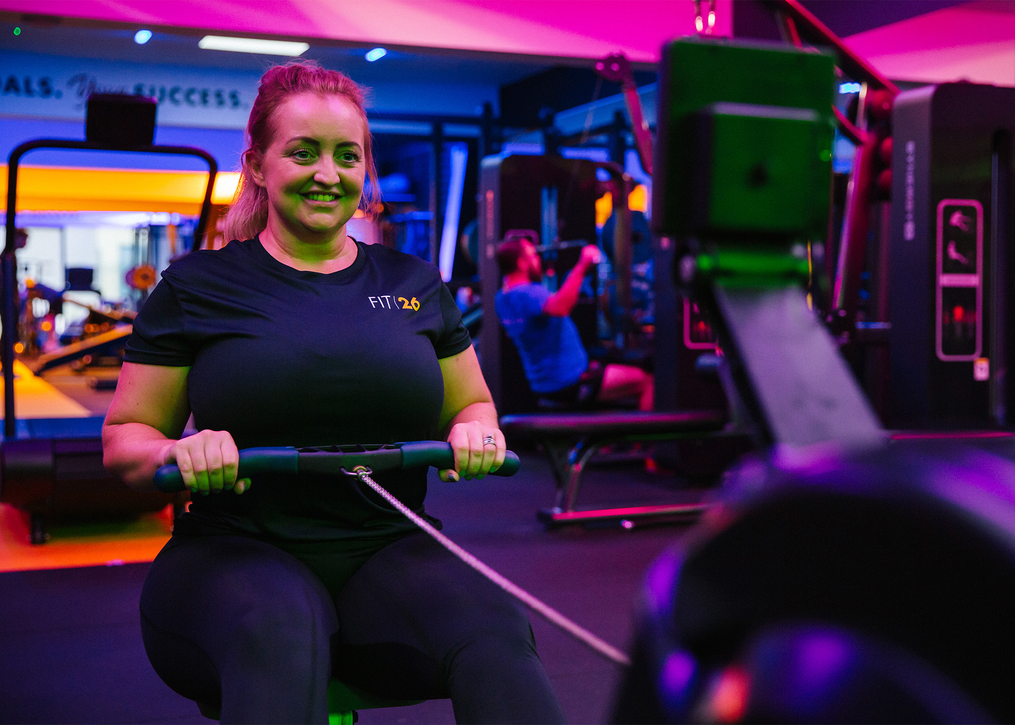 Fit26 Personal Trainer Rower