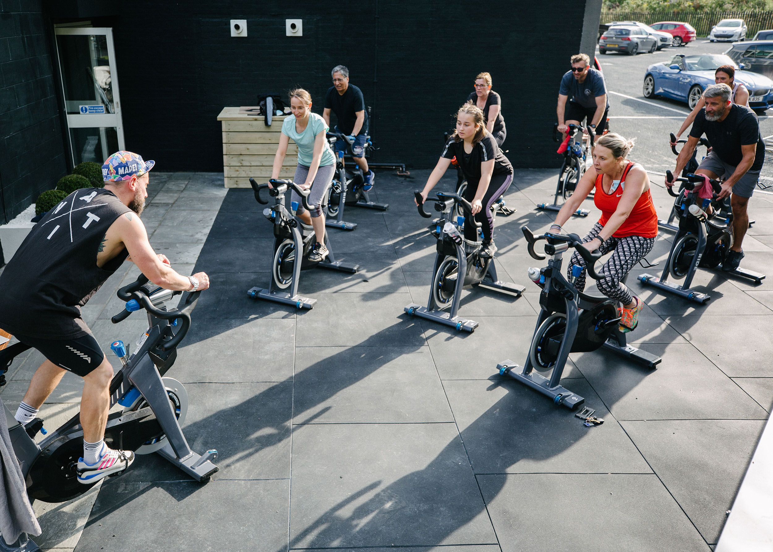 FIT26 Outdoor Spin Class