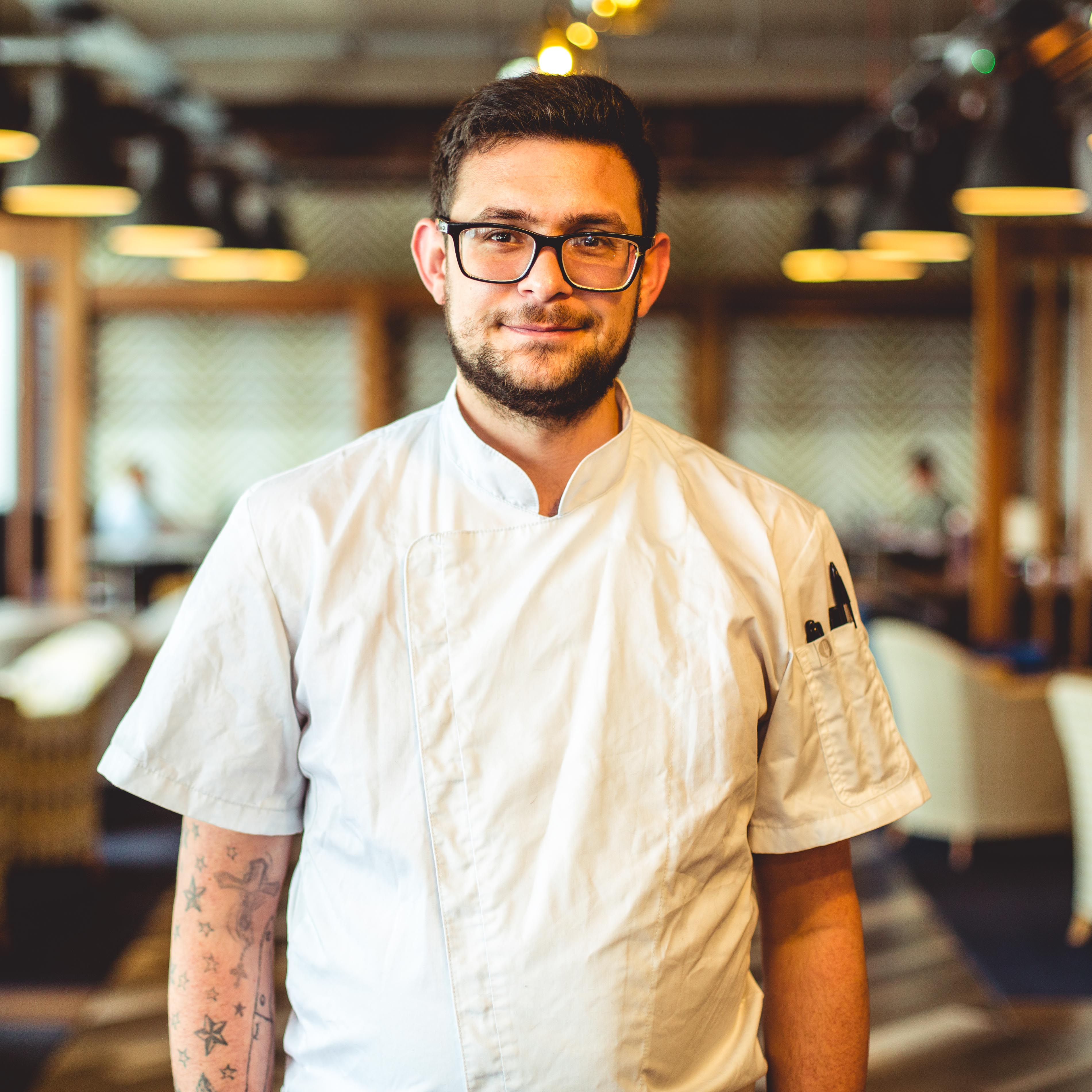 hub26 chef Andrew